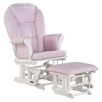 Shermag Alexis Glider Rocker and Ottoman Combo