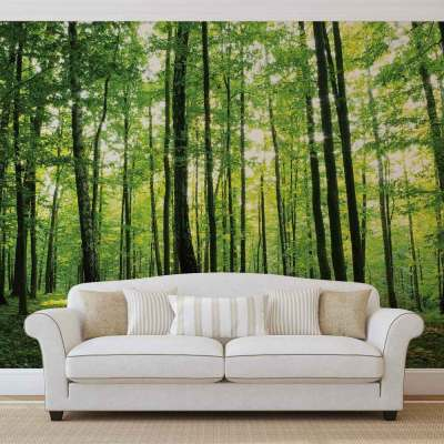 WALL MURAL PHOTO WALLPAPER XXL Flowers Forest Nature (186WS) | eBay