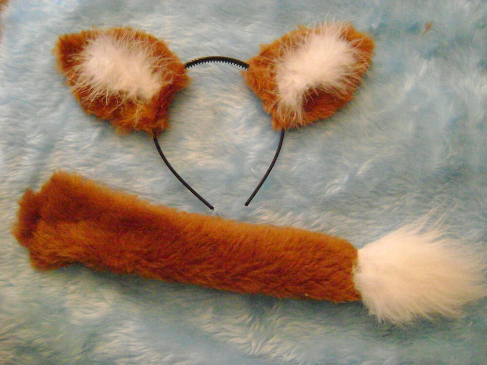 Fantastic Mr Fox Costume World Book Day Fox Ears And Tail