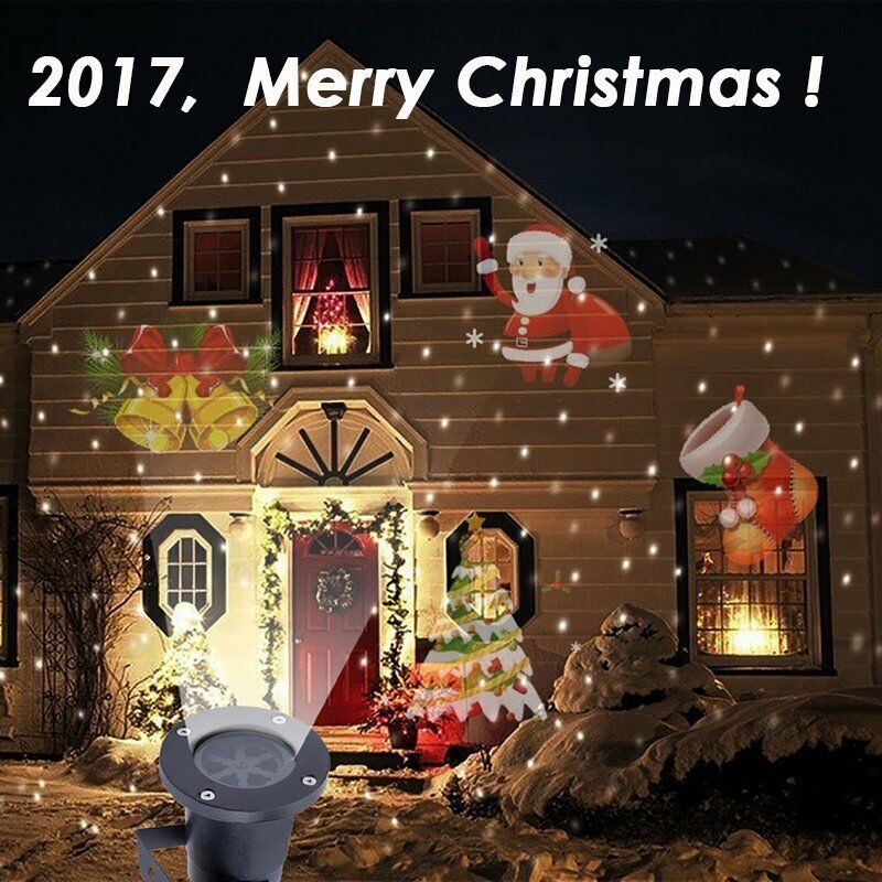 Projecteur Laser Exterieur Noel Gifi Outdoor Christmas Led Lights Moving Laser Projector
