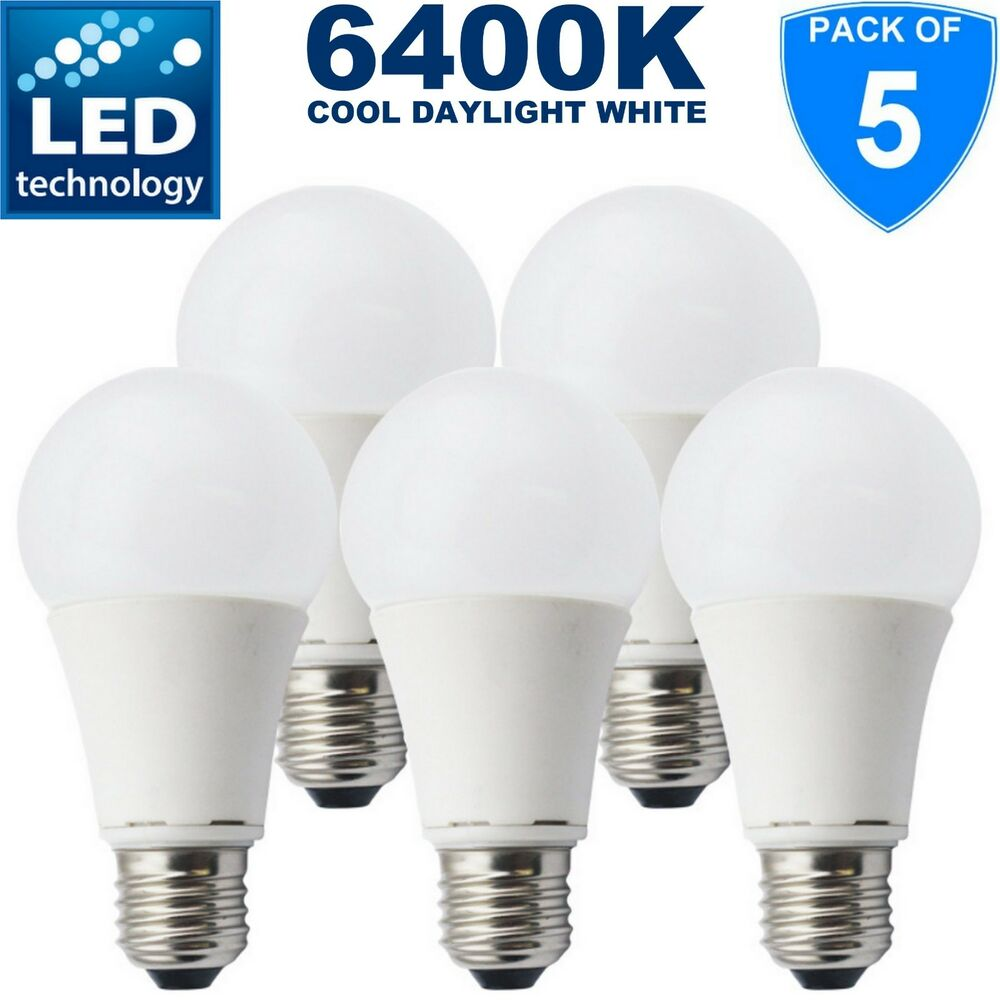 Ampoule Led à Vis 5 X Branded 15w 100w 1200lm E27 Led Edison Screw Gls Bulbs Cool Daylight White Ebay