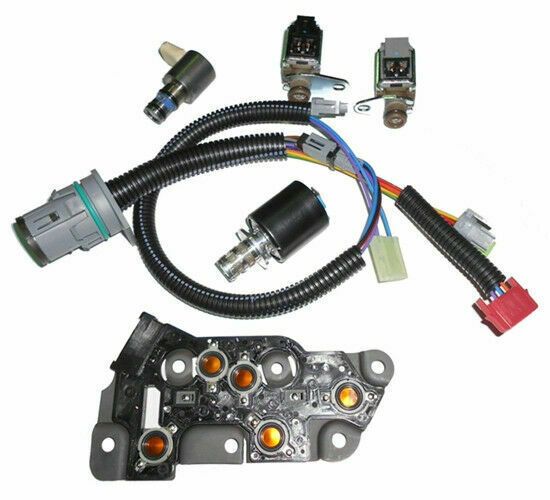 OEM 4L80E Solenoid Kit 4 Solenoids,1 Press Switch,1 Internal wire