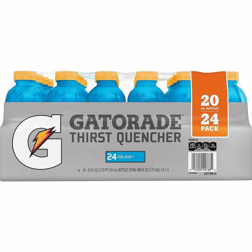 Cool Blue Paint Gatorade Cool Blue 20 Oz 24 Pk 52000324815 Ebay