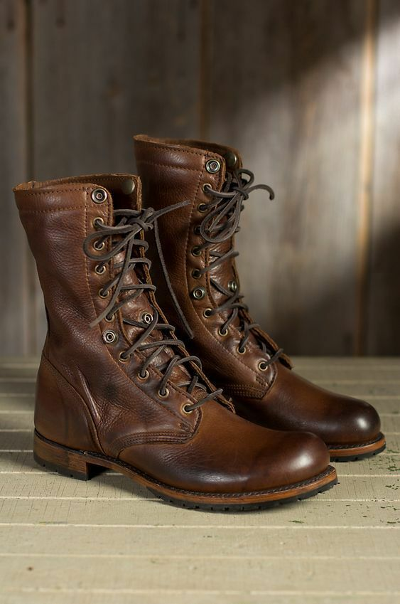Handmade High Ankle Genuine Leather Boots Mens Cowhide - Handmade Boots