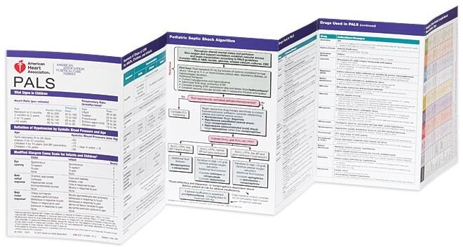 Pediatric Advanced Life Support (Pals) Pocket Reference Card Cards