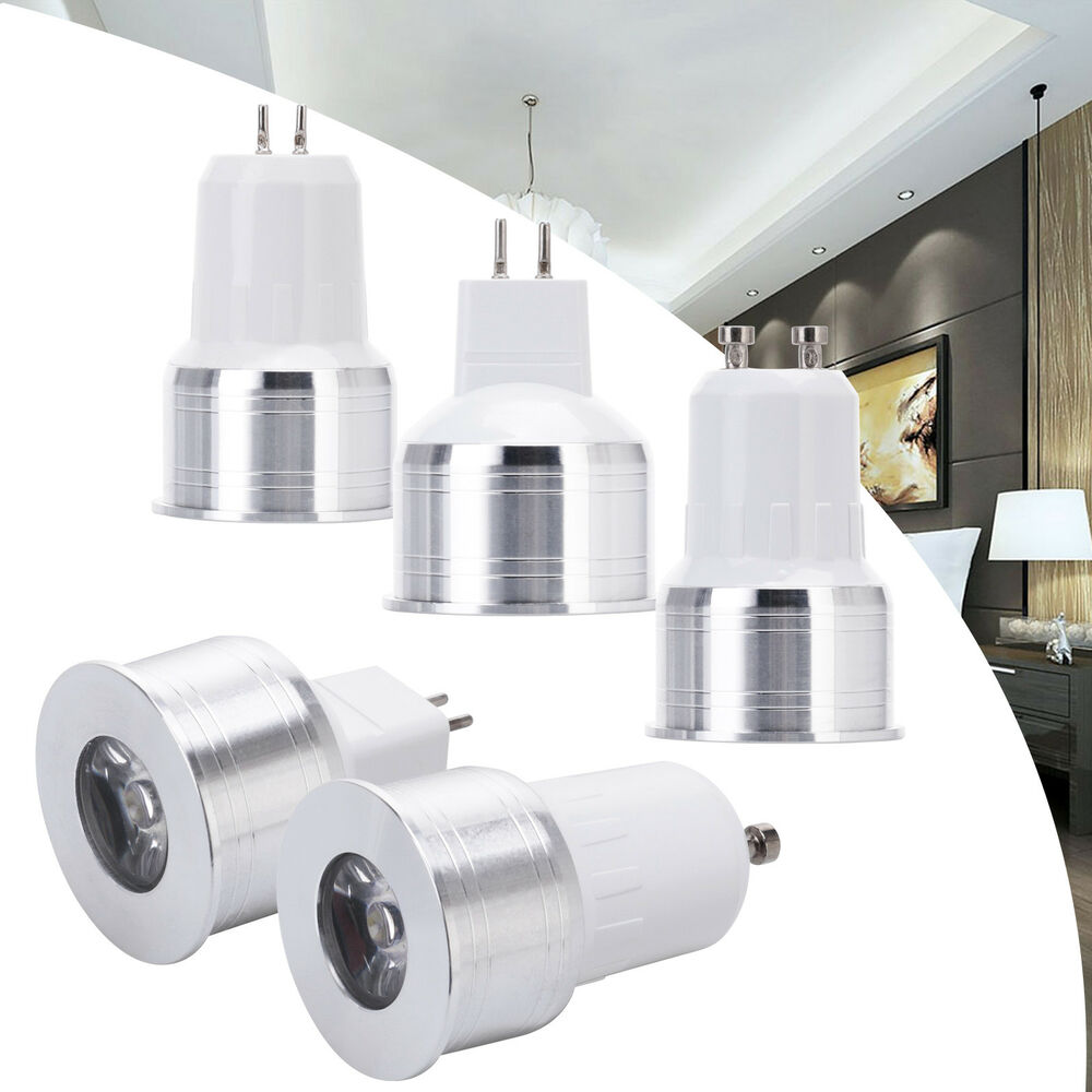 Halogen Spotlight Bulbs Mini Spot Light Bulb Lamp Replace Halogen Lamp 3w Led Gu10 Mr16 Gu5 3 110v 220v Ebay
