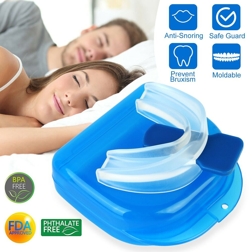 Sleep Tight Mouthpiece Dental Mouth Guard Anti Snore Night Sleep Apnea Mouthpiece Moldable Grinding Aid 616043306438 Ebay