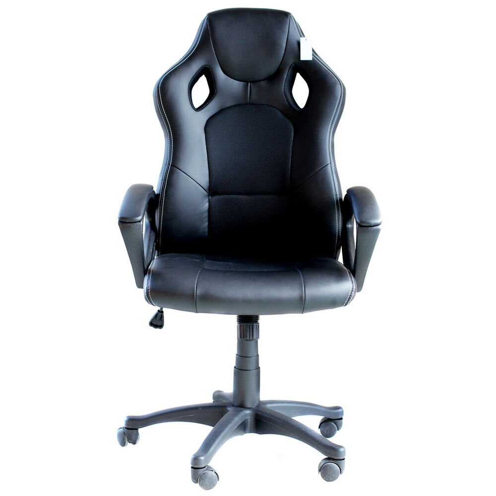 Computer Chair Ergonomically Correct Ids Ergonomic Gaming Racing Chair Computer Chair Swivel Office Chair High Back Ebay