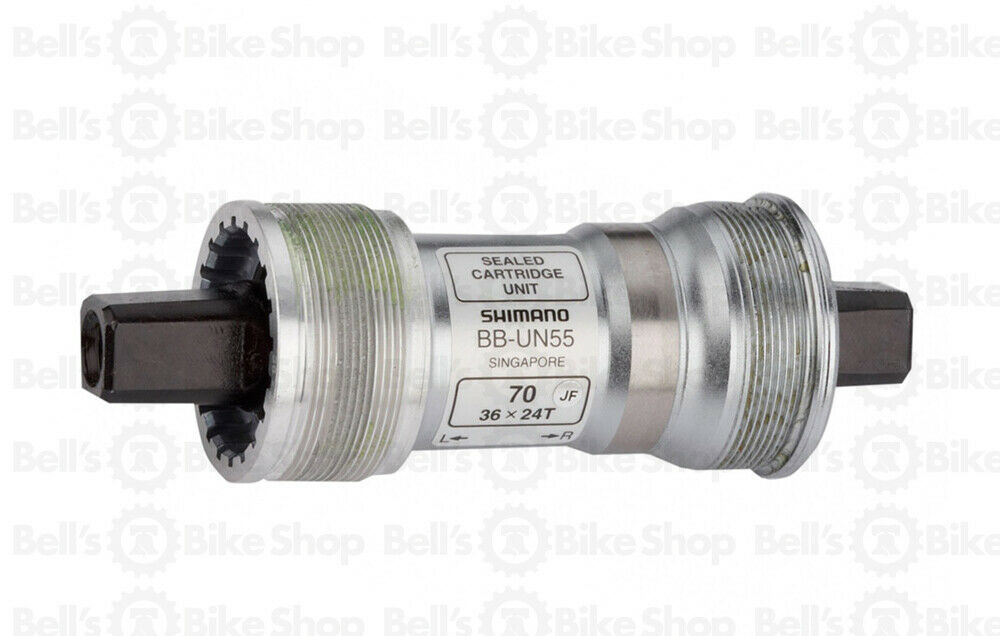 Bb Innenlager Shimano Un55 Shimano Bb-un55 Bottom Bracket Jis Square Taper 70mm X