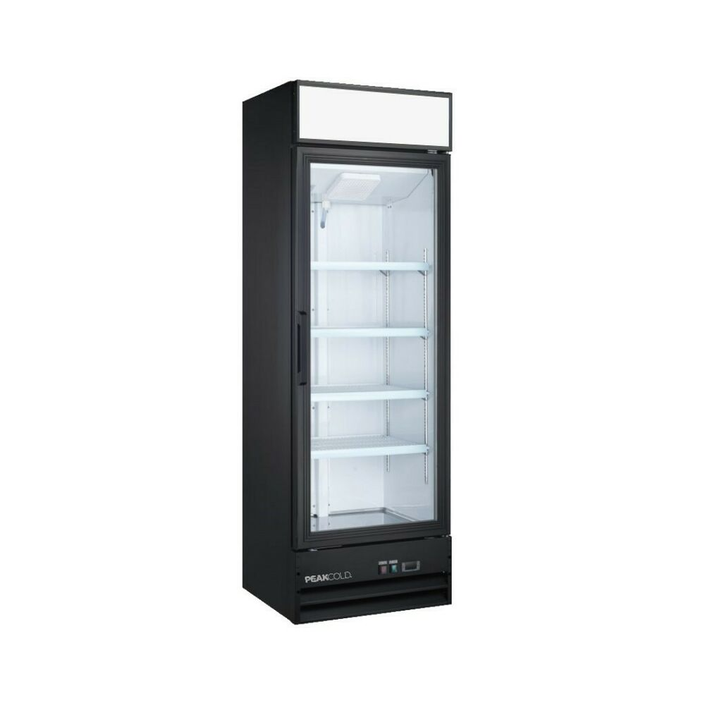 14 Cu Ft Refrigerator Single Glass Door Upright Display Cooler Merchandiser Refrigerator 14 Cu Ft 737069972787 Ebay