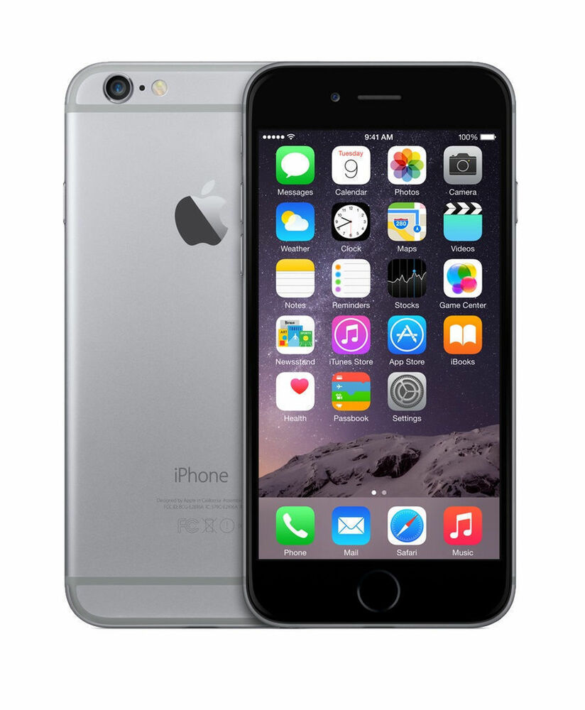 Iphone 6 32gb Brand New Apple Iphone 6 32gb Space Gray At T 190198429520 Ebay