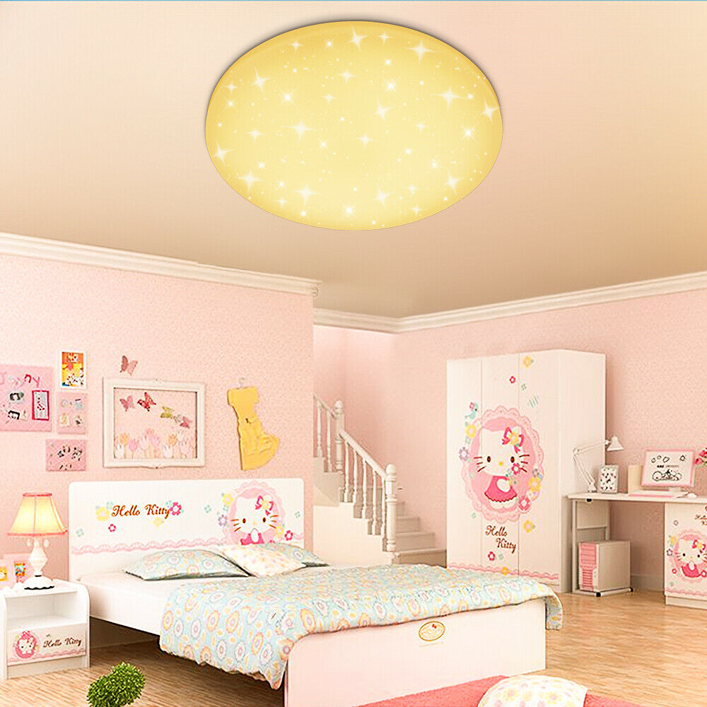 Children S Furniture Home Supplies 24w Led Kinderlampe Deckenleuchte Kinderzimmer Deckenlampe Warmweiss Hello Kitty Home Furniture Diy Morisonmauritius Com
