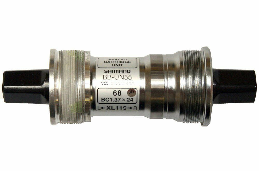 Bb Innenlager Shimano Un55 Shimano Un55 Bike Sealed Bottom Bracket 68mm Choice Of 4
