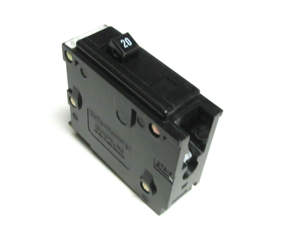 New Lot Of 2 Cutler Hammer Eaton Br120 1 Pole 20 Amp 120 Auto Bab1020 Quicklagr Circuit Breaker 50