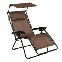 Zero Gravity Chair Oversized lounge Chair with Canopy by ...