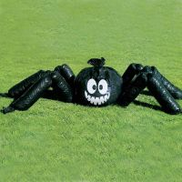 Jumbo Halloween Spider Garden Lawn Bag Party Decoration | eBay