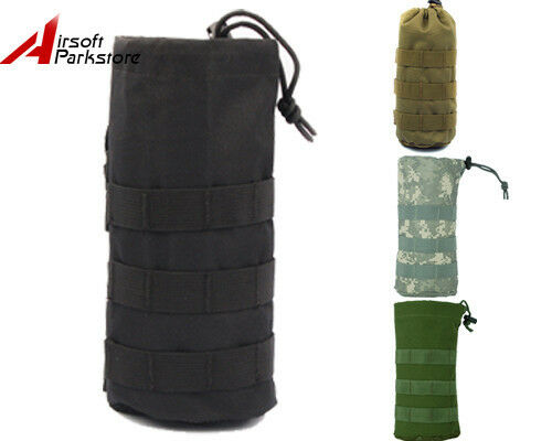 Tactical Outdoor Molle Water Bottle Pouch Bag Carrier