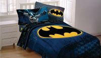 NEW BATMAN DC Comic TWIN Size Bed Comforter Sheet Set Bed ...
