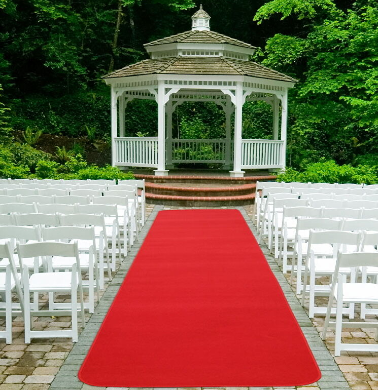 Roter Teppich Hochzeit Kaufen Red Carpet Runner Wedding Award Party Event Aisle Rug | Ebay