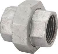 NEW LOT (4) 1 1/2 INCH GALVANIZED PIPE THREADED UNIONS ...