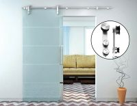 Sliding Barn Door Hardware Stainless Steel Interior Closet ...