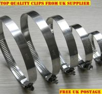 STAINLESS STEEL HOSE CLIPS, PIPE CLAMPS, WORM DRIVE *All ...