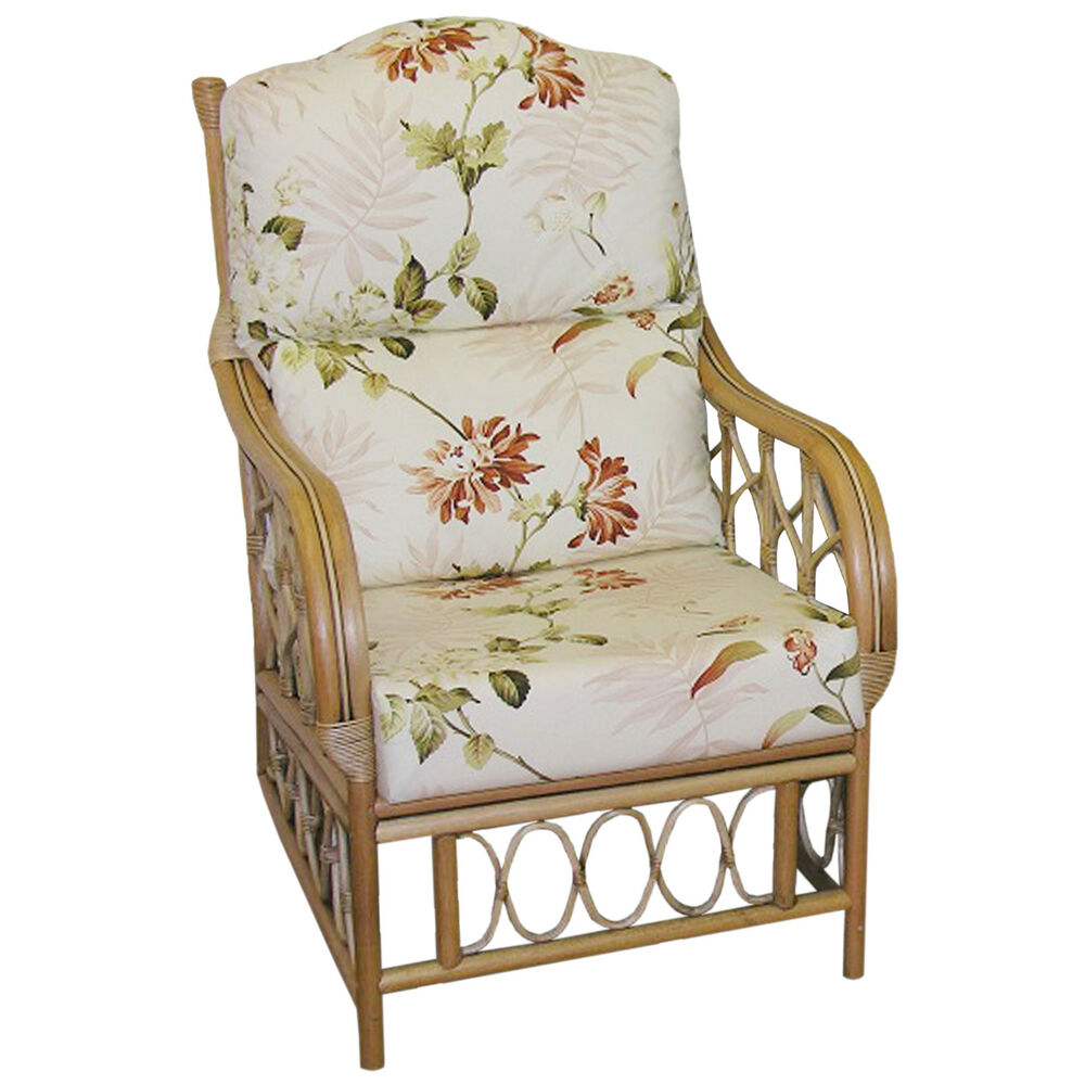 Replacement Cane Furniture Hump Top Chair Cushions Covers