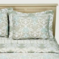NEW SIMPLY SHABBY CHIC DAMASK SCROLL REVERSIBLE COMFORTER ...