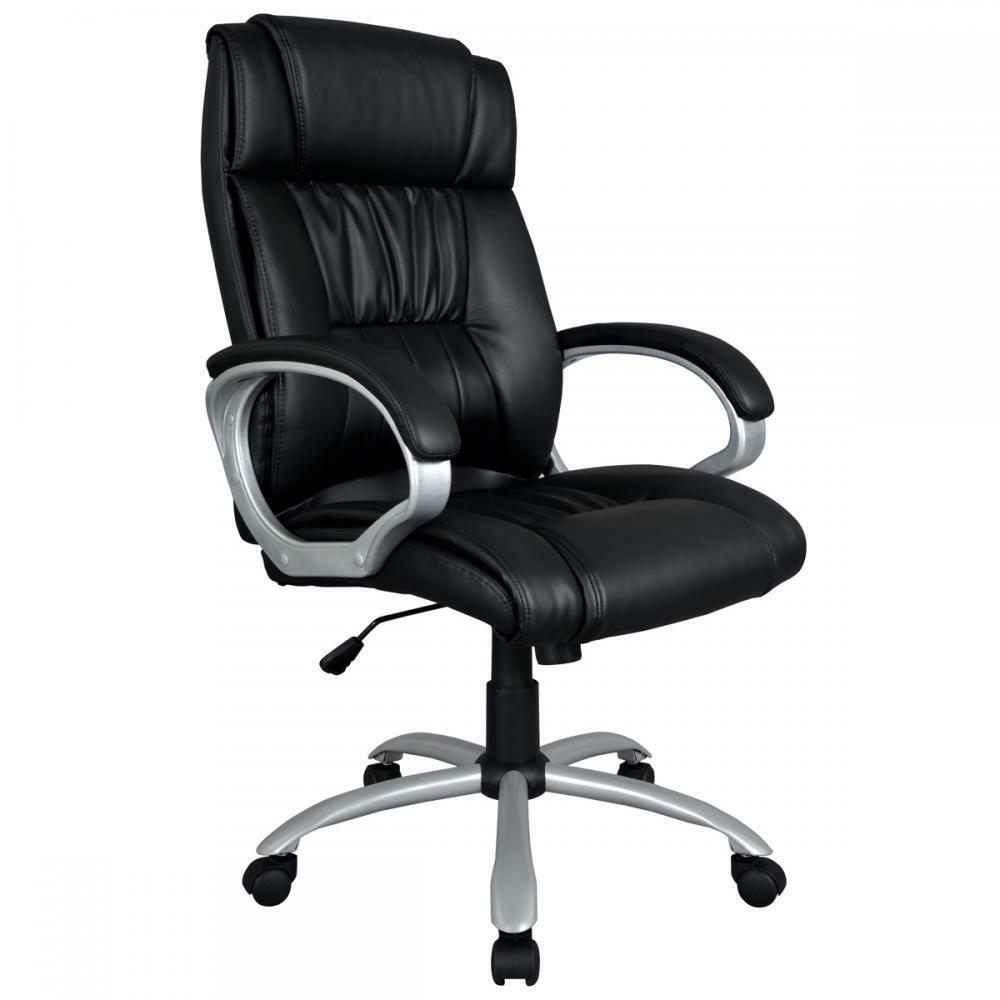 Schreibtisch Und Stuhl Black High Back Executive Office Chair Task Ergonomic