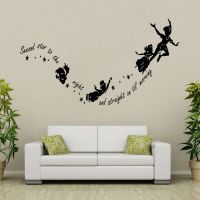 Tinkerbell Peter Pan Removable Wall Decal Vinyl Sticker ...
