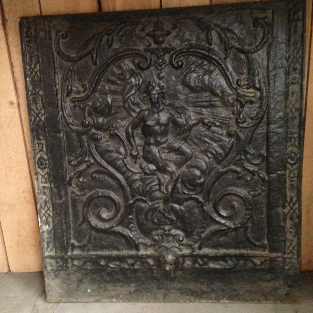 Plaques De Cheminées Chimney Plates Interior Fireplace Hearth Cast Iron Ebay