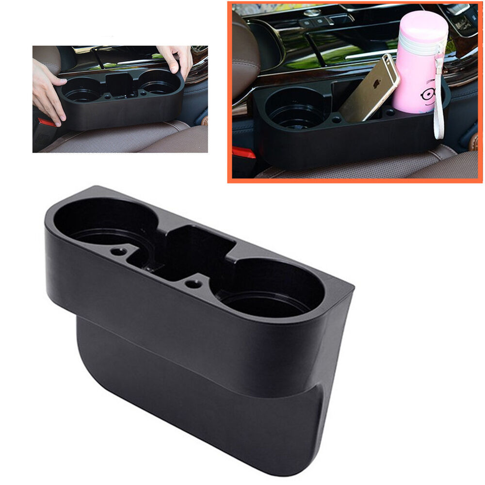 Seat Seam Wedge Car Drink Cup Holder Travel Drink Mount
