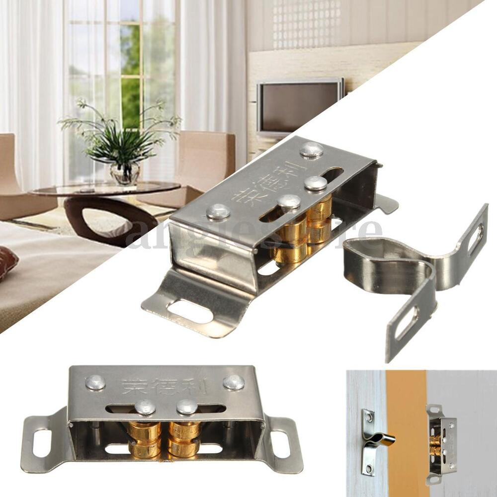 Roller Badschrank 5pcs Double Roller Latch Door Cabinet Cupboard Furniture