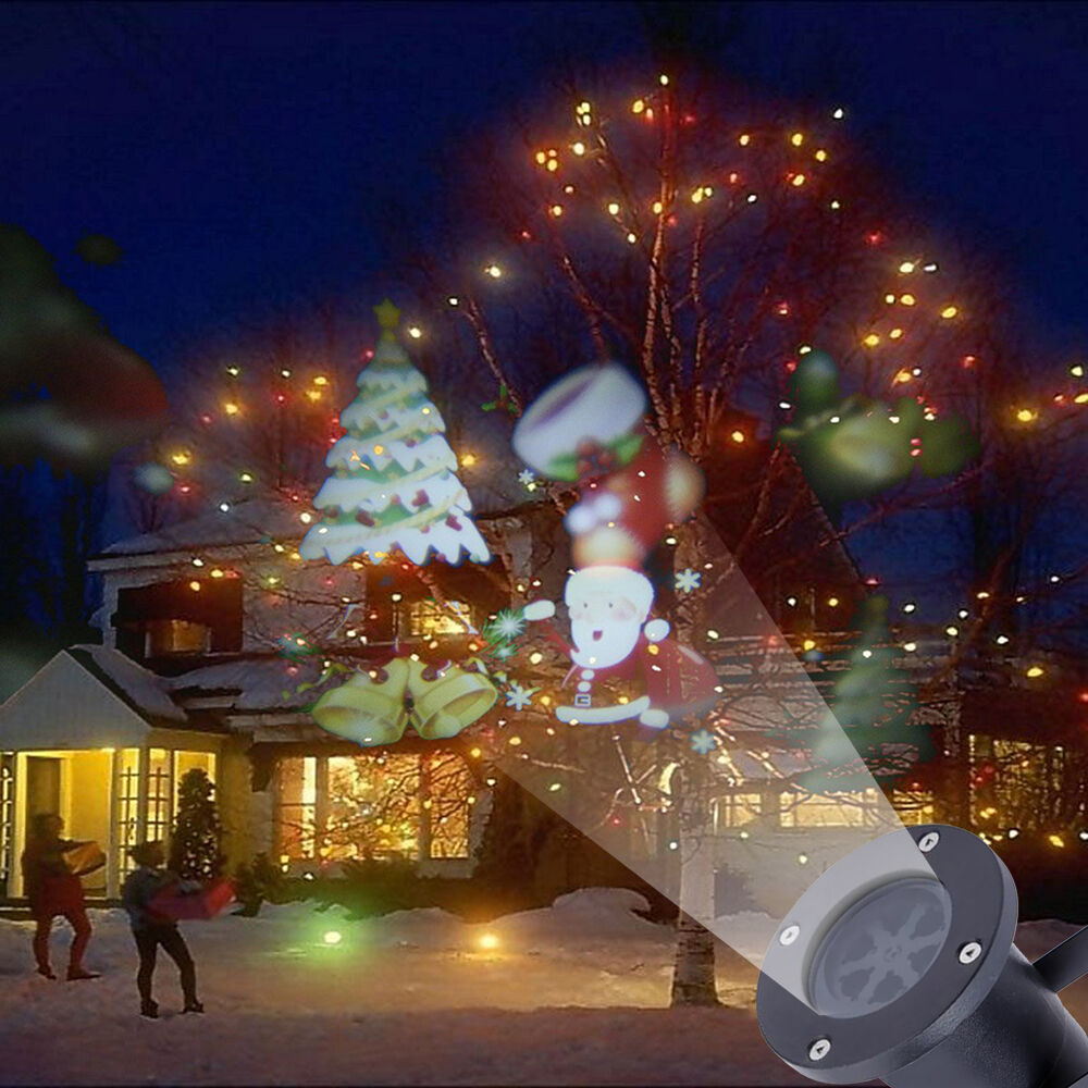 Deco Noel Exterieur Solaire Christmas Led Lights Moving Lase R Projector Outdoor
