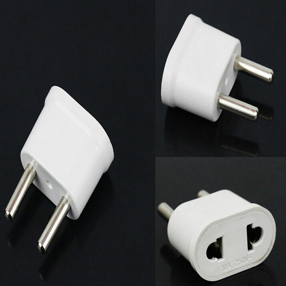 Coles Travel Adaptor 2pcs Us Usa To Eu Europe Travel Charger Wall Ac Power Plug Adapter Converter 6984378083237 Ebay