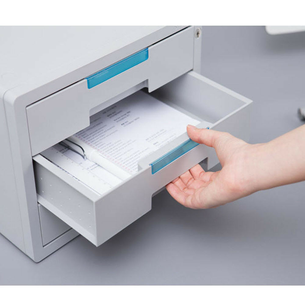 Small Filing Cabinet Security Key File Cabinet 3 Drawers A4 Filing Cabinet Files Storage Small Box 688934687087 Ebay