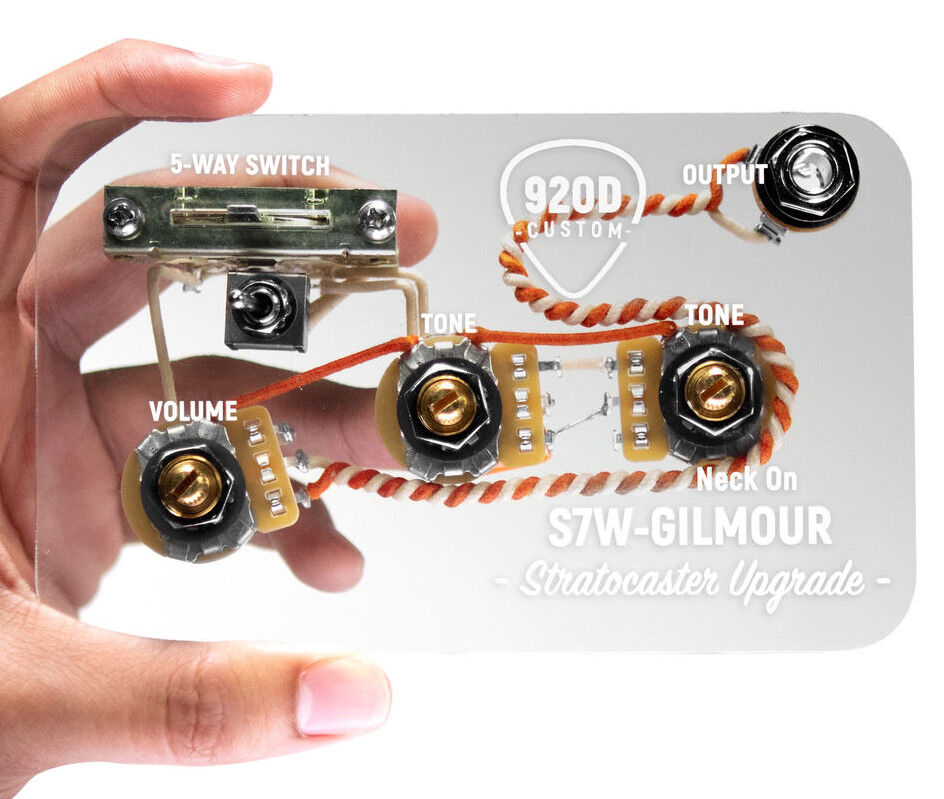 920D Custom S7W David Gilmour 7-Way Wiring Harness for Fender Strat