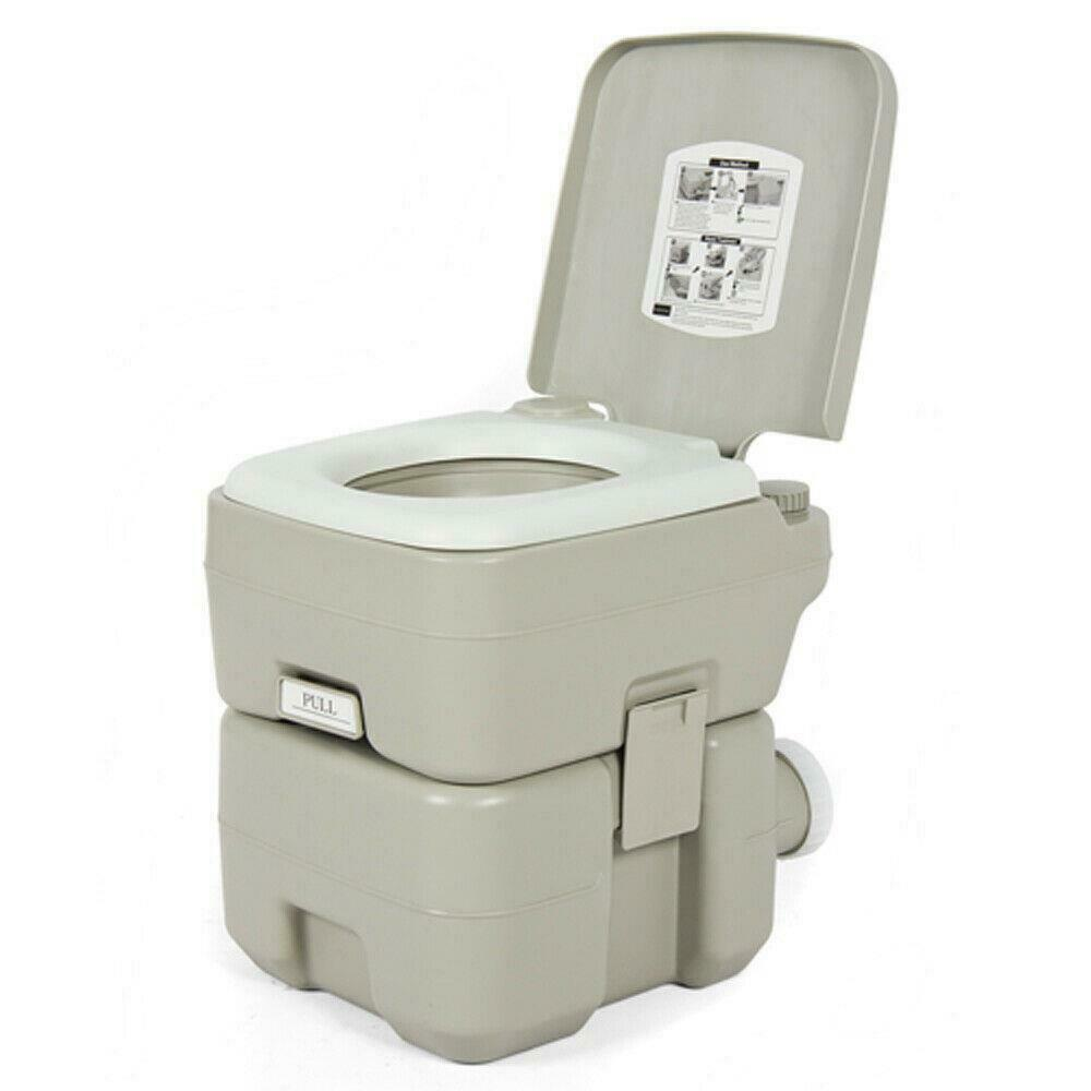 Camping Toilet Outdoor Camping Toilet 20l 5 Gallon Portable Potty Hygiene Equipment Ebay