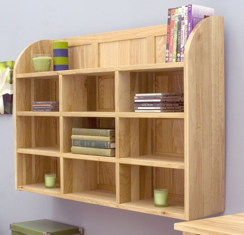 Dvd Möbel Mobel Solid Oak Furniture Cd Dvd Storage Wall Rack 5060528132084 Ebay
