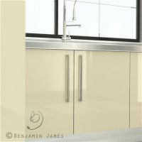 High Gloss Cream Kitchen Cabinet Door Fronts - High ...