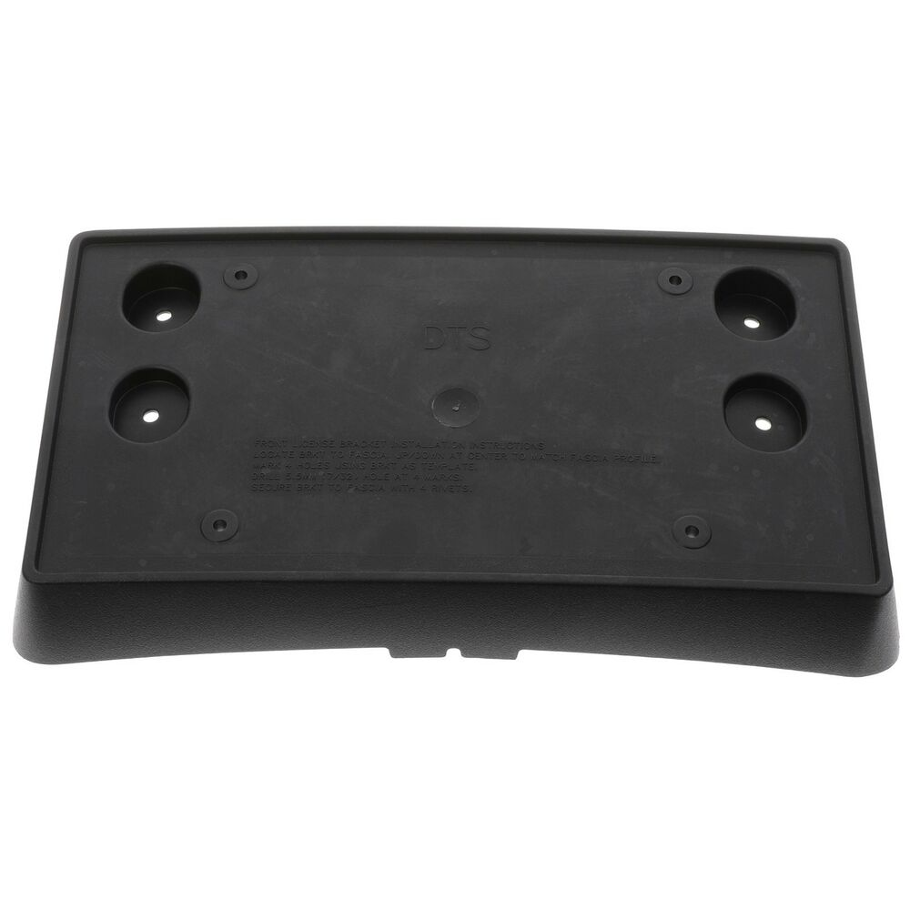 2006 2011 Cadillac Dts Front License Plate Mounting