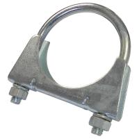 EXHAUST CLAMP M8 U BOLT CLAMP WITH NUTS Clamps Pipe ...