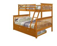 TWIN OVER FULL BUNK BED W/ OPTIONAL TRUNDLE AND/OR TENT ...