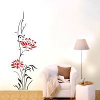 Large Lotus Flower Wall stickers Removable decals home