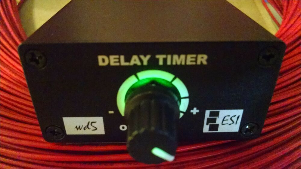 WIPER DELAY SWITCH WITH 2-30 SECOND DELAY UNIVERSAL FIT USE WITH 12