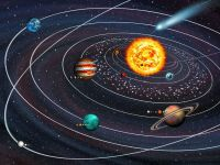 Self Adhesive Wall Mural Photo Print Space Solar System ...