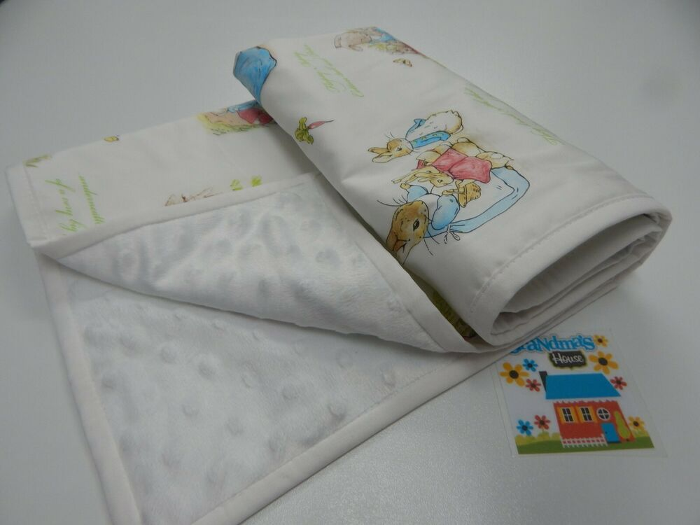 Baby Pram Gift Peter Rabbit Baby Blanket Beatrix Potter Bassinet Pram
