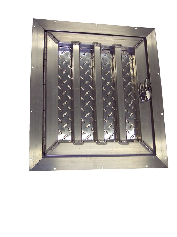 Tall Aluminum Dog Box Crate Kennel Door Ebay