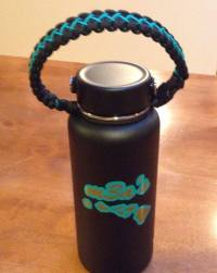 Paracord Hydro Flask Holders Instruction | myideasbedroom.com
