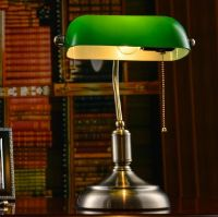 Retro Library Table Study Lamp Bedroom Desk Light Home ...